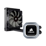Hydro Series H60 High Performance Liquid CPU Cooler - Processor liquid cooling system - (for: LGA1156, AM2, LGA1366, AM3, LGA1155, LGA2011, FM1, FM2, LGA1150, LGA1151, AM4, LGA2066) - copper with aluminum base - 120 mm - black