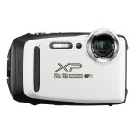 FinePix XP130 - Digital camera - compact - 16.4 MP - 1080p / 60 fps - 5x optical zoom - Fujinon - Wi-Fi, Bluetooth - underwater up to 60 ft - white