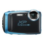FinePix XP130 - Digital camera - compact - 16.4 MP - 1080p / 60 fps - 5x optical zoom - Fujinon - Wi-Fi, Bluetooth - underwater up to 60 ft - sky blue