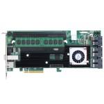 16/4-Port Internal/External PCIe 3.0 x8 12Gb/s SATA/SAS RAID with 4GB Cache