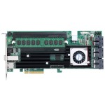 16/4-Port Internal/External PCIe 3.0 x8 12Gb/s SATA/SAS RAID with 8GB Cache
