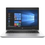 """ProBook 640 G4 8th Gen Intel Core i7 8650U / 1.9 GHz - Win 10 Pro 64-bit - 16 GB RAM - 512 GB SSD - 14"""" IPS 1920 x 1080 (Full HD) - UHD Graphics 620 - Wi-Fi, Bluetooth - Natural Silver - kbd: US"""