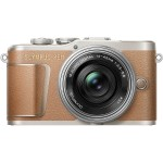 E-PL9 Mirrorless Micro Four Thirds Digital Camera (Brown)