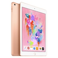 Apple iPad Wi-Fi 32GB - Gold- Engraving - Released 2018 MRJN2LL/A