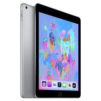 Apple iPad Wi-Fi 128GB - Space Gray - Engraving - Released 2018 MR7J2LL/A