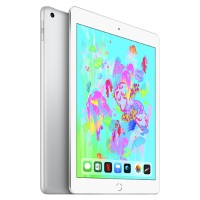 Apple iPad Wi-Fi 128GB - Silver - Engraving - Released 2018 MR7K2LL/A