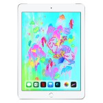 iPad Wi-Fi + Cellular for Apple SIM 128GB with Engraving - Silver - Released 2018