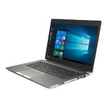 "Portégé Z30-C - Ultrabook - Core i5 6300U / 2.4 GHz - Win 7 Pro 64-bit (includes Win 10 Pro 64-bit License) - 8 GB RAM - 256 GB SSD - 13.3"" 1366 x 768 (HD) - HD Graphics 520 - Wi-Fi - cosmo silver, black keyboard - kbd: US"