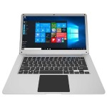 "Thinnote 13 Intel Celeron N3450 Quad-Core 1.10GHz Ultrabook - 4GB RAM, 32GB Storage, 13.3"" FHD IPS, Intel HD Graphics 500, Wifi, Microsoft Windows 10 Home  - Silver"