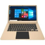 "Thinnote 13 Intel Celeron N3450 Quad-Core 1.10GHz Ultrabook - 4GB RAM, 32GB Storage, 13.3"" FHD IPS, Intel HD Graphics 500, Wifi, Microsoft Windows 10 Home  - Gold"