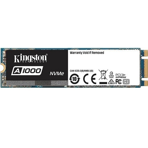 A1000 - Solid state drive - 480 GB - internal - M.2 2280 - PCI Express 3.0 x2 (NVMe)