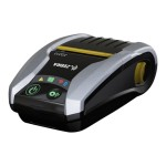 ZQ300 Series ZQ310 Mobile Receipt Printer - Receipt printer - thermal paper - Roll (2.3 in) - 203 dpi - up to 240 inch/min - USB 2.0, Wi-Fi(n), NFC, Wi-Fi(ac), Bluetooth 4.0 LE - tear bar - black, silver