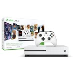 Xbox One S - Starter Bundle - game console - 4K UHD Video Playback, 1080p game play - HDR - 1 TB HDD - white