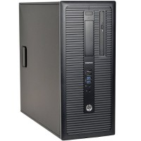 HP Inc. 800 G1 Intel Core i7-4770 3.4GHz MT Desktop PC - 16GB RAM, 2TB Hard Drive, DVD, Microsoft Windows 10 Pro 64-bit - Refurbished H800G1i7162W10P