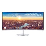 "34"" CJ791 Series QHD LED LCD Ultrawide Curved Monitor with Thunderbolt 3 for Business"