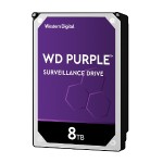 "8TB WD Purple Surveillance Hard Drive WD81PURZ - 3.5"" internal - SATA 6Gb/s - 5400 rpm - buffer: 256 MB"