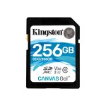 256GB SDXC Canvas Go 90R/45W CL10 U3 V30