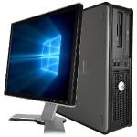 "OptiPlex 760 Intel Core 2 DUO E7500 2.93GHz Desktop PC with Monitor (Combo) - 8GB DDR3 RAM, 2TB SATA HDD, DVD, Gigabit Ethernet, WiFi, Monitor: 22"" (Brand may vary), Microsoft Windows 10 Pro 64-bit - Refurbished (Off-Lease)"