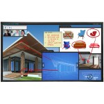 """EP6524K-T 65"""" diagonal 4K UHD 2160p - IR 20 point touch Direct-lit LED Interactive LCD Display"""
