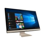 """Vivo AiO 27"""" All-in-One Desktop Computer, Intel Core i5-8250U (up to 3.4 GHz), 27"""" Full HD LED-backlit Touchscreen Display with NanoEdge Bezel, 8 GB DDR4 RAM, 1 TB HDD, HD Webcam, 802.11ac Wi-Fi, Wired Keyboard and Mouse, Black"""