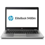 "EliteBook Folio 9480M Notebook PC - Intel Core i5-4310u 2.0GHz - 8GB DDR3L - 180GB SSD - 14"" HD 1366x768 - HD Graphics 4400 - 3x USB 3.0 - BT - Win 10 Pro 64-bit - Refurbished"
