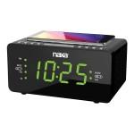 NRC-191 - Clock radio - shiny black