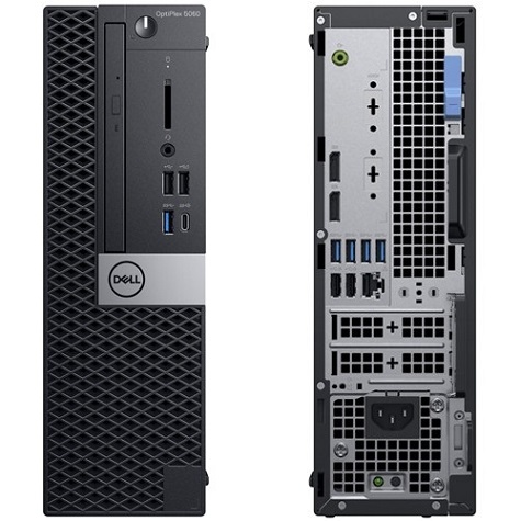 Dell OptiPlex 5060 8th Gen Intel Core i5-8500 6-Core 3GHz Small Form Factor  PC - 8GB RAM, 256GB Class 20 SSD, Intel UHD Graphics 630, DVD-Writer, GigE