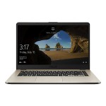 "VivoBook 15 F505ZA-DB31 - Ryzen 3 2200U / 2.5 GHz - Win 10 Home 64-bit - 6 GB RAM - 1 TB Hybrid Drive - 15.6"" 1920 x 1080 (Full HD) - Radeon Vega 3 - 802.11ac, Bluetooth - metal gold"