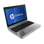 """EliteBook 8560P Laptop PC - Intel Core i5-2520m 2.6GHz (up to 3.3GHz) vPro, 8GB DDr3, 320GB HDD, 15.6"""" HD, 802.11n, Windows 10 Pro - (Off-Lease)"""