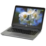 "Probook 640 G1 Notebook PC - Intel Core i5-4300M 2.6GHz, 4GB RAM, 128GB SSD, 14"" Display, Integrated Graphics, Gigabit Ethernet, WiFi, 3x USB 3.0, Win 10 Pro 64-bit - Refurbished"