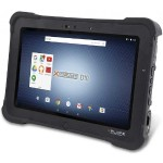 Rugged Tablet, D10, 10.1inch, Intel Atom E3845 Quad Core, Android 6.0.1,64GB SSD,4GB, WLAN, Front/RearCamera, US Power, IP65, 3Yr Std Warranty