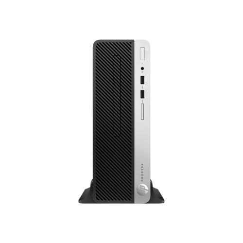 PCM | HP Inc , SmartBuy ProDesk 400 G5 8th Gen Intel Core i3-8100 3 6GHz  Small Form Factor PC - 4GB RAM, 500GB HDD, DVD-Writer, UHD Graphics 630,