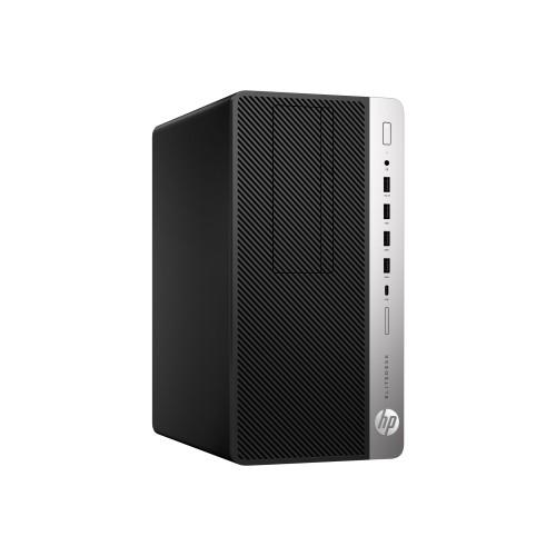 PCM   HP Inc , EliteDesk 705 G4 - Micro tower - 1 x A10 PRO-9700 / 3 5 GHz  - RAM 8 GB - SSD 256 GB - NVMe - DVD-Writer - Radeon R7 - GigE - Win 10 Pro