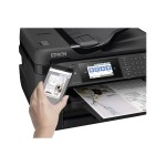 WorkForce WF-7720 - Business Edition - multifunction printer - color - ink-jet - Ledger/A3 (11.7 in x 17 in) (original) - A3/Ledger (media) - up to 16 ppm (copying) - up to 18 ppm (printing) - 500 sheets - 33.6 Kbps - USB 2.0, LAN, Wi-Fi(n), USB host, NFC
