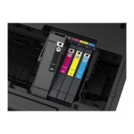 WorkForce Pro WF-4740 - Business Edition - multifunction printer - color - ink-jet - Legal (8.5 in x 14 in) (original) - A4/Legal (media) - up to 22 ppm (copying) - up to 24 ppm (printing) - 500 sheets - 33.6 Kbps - USB 2.0, LAN, Wi-Fi(n), USB host, NFC