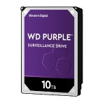 "10TB WD Purple Surveillance Hard Drive WD101PURZ - 3.5"" internal - SATA 6Gb/s - 7200 rpm - buffer: 256 MB"