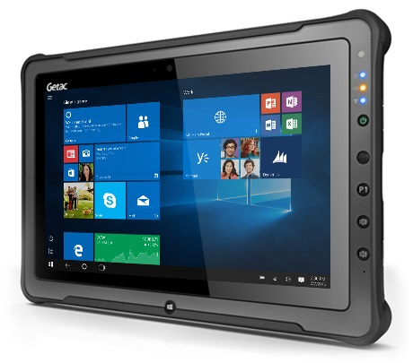 Getac F110 G4 Basic - 7th Gen Intel Core i5-7200U Dual-Core 2 50GHz Rugged  Tablet PC - 8GB RAM +TAA, 128GB SSD, 11 6