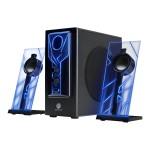 GOgroove BassPULSE - Speaker system - for PC - 2.1-channel - 20 Watt (total)