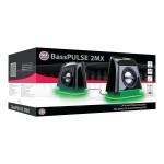 GOgroove BassPULSE 2MX - Speakers - for PC - 4.8 Watt (total)
