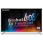 "50"" All Metal Slim Design 4K Ultra HD Smart Android TV"