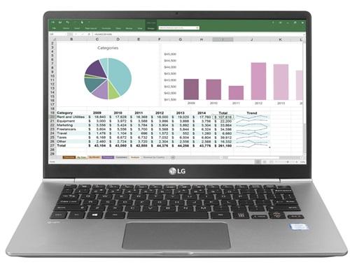 LG Electronics 14ZT980-G 7th Gen Intel Core i3-7100U Dual-Core 2 40GHz  Mobile Thin Client - 8GB RAM, 128GB SSD, 14