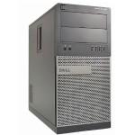 OptiPlex 990 Tower Intel Core i5-2400 Quad-Core 3.10GHz Desktop PC - 8GB RAM, 120GB SSD + 2TB HDD, VGA, Microsoft Windows 10 Pro 64-bit - Refurbished