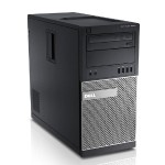 OptiPlex 9020 Tower Intel Core i5-4570 Quad-Core 3.20GHz Desktop PC - 8GB RAM, 120GB SSD, VGA, Microsoft Windows 10 Pro 64-bit - Refurbished