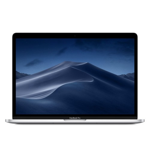 13.3 MacBook Pro with Touch Bar, Quad-Core Intel Core i5 2.3GHz, 8GB RAM, 256GB SSD storage, Intel Iris Plus Graphics 655, 10-hour battery life, Silver, macOS High Sierra