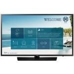"43"" NJ470 Series Non Smart Hospitality TV - FHD (1920x1080), LED Backlight, Mega Contrast, Dolby Digital Plus, 2x HDMI, 1x USB, 200x200mm VESA, M8 Wall Mount Screw - Samsung LYNK REACH 4.0 - Black Hairline, Semi-Slim Bezel"