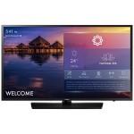 "43"" NJ478 Series Non Smart Hospitality TV - FHD (1920x1080), LED Backlight, Mega Contrast, Dolby Digital Plus, 2x HDMI, 1x USB, 200x200mm VESA, M8 Wall Mount Screw - Samsung LYNK REACH 4.0 - Black Hairline, Semi-Slim Bezel"