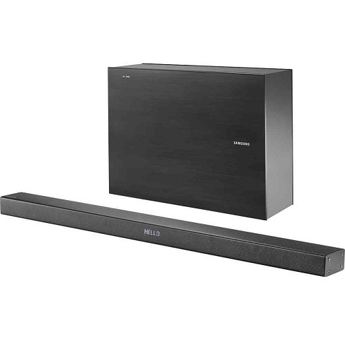 HW-KM45C 2.1-Channel Soundbar with Wireless Active Subwoofer - Refurbished