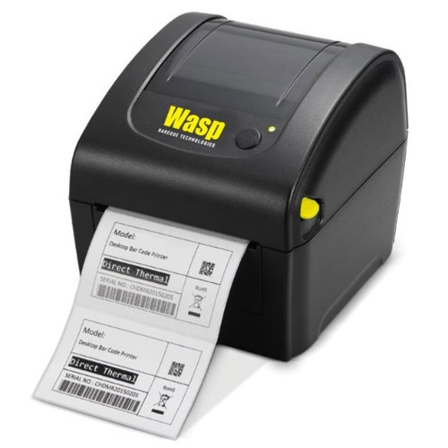 Wasp WPL206 - Label printer - thermal paper - Roll (4 5 in) - 203 dpi - up  to 300 inch/min - USB 2 0 (633809003158)
