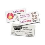 Color Laser Business Cards - White - 20 pcs. 8) business cards