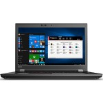 "ThinkPad P72 20MB - Xeon E-2176M / 2.7 GHz - Win 10 Pro for Workstations 64-bit - 16 GB RAM - 512 GB SSD TCG Opal Encryption 2, NVMe - 17.3"" IPS 3840 x 2160 (Ultra HD 4K) - Quadro P4200 / UHD Graphics P630 - Wi-Fi, Bluetooth - black"